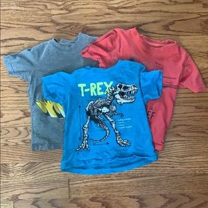 Bundle deal! Carters 3 3T graphic tees!